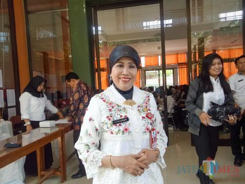 Kepala Dinas Pendidikan Kota Malang, Dra Zubaidah MM. (Foto: Imarorul Izzah/MalangTIMES)