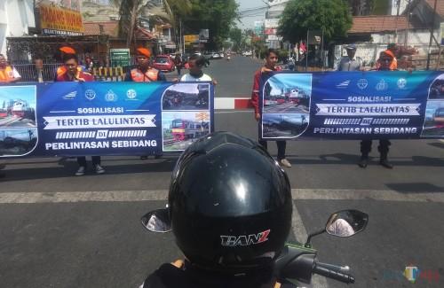 Tekan Angka Kecelakaan PT KAI Daop 7 Madiun Lakukan Sosialisasi