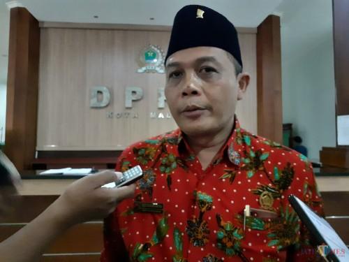 Ketua DPRD Kota Malang sementara I Made Rian DK (Arifina Cahyanti Firdausi/MalangTIMES)