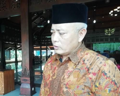 Bupati Malang Sanusi sampaikan pernyataan terkait posisi Wabup Malang ke depan (Nana)