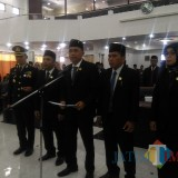 Usai Dilantik, Pimpinan DPRD Lumajang Deklarasi Dukungan Penuntasan Kasus Q-NET