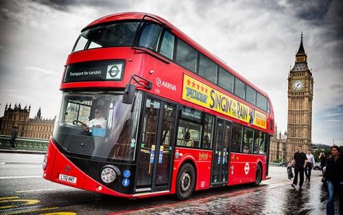Bus tingkat di London. (Foto: istimewa)