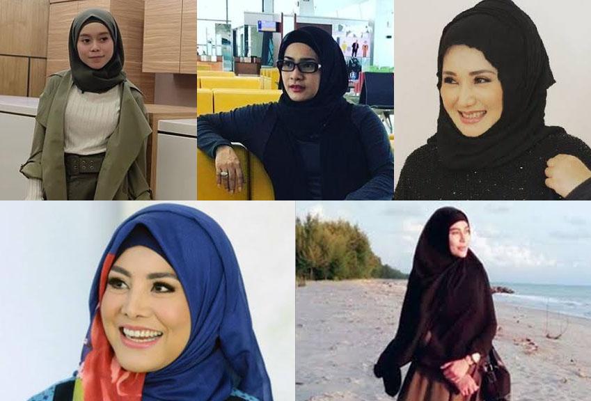 Gaya Hijab Pedangdut-Pedangdut Indonesia