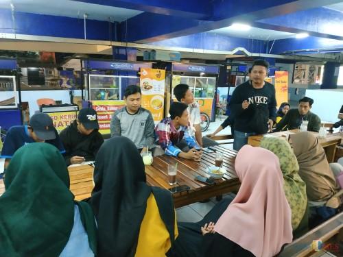 Suasana perkenalan Ikamala Unisma Malang kepada maba (Hendra Saputra)