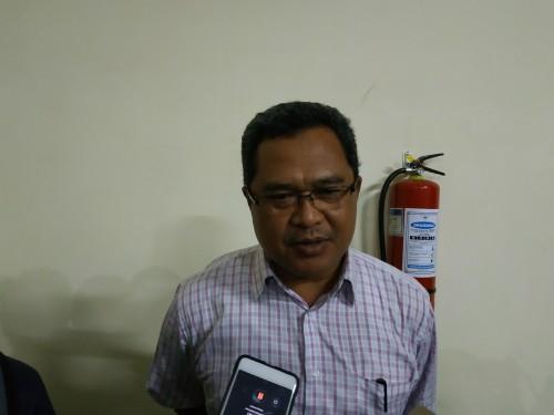 Ketua panpel Arema FC Abdul Haris (Hendra Saputra)