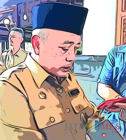 Bupati Malang Sanusi kembali sampaikan program bantuan dana ekstra ke 378 desa senilai Rp 1,5 miliar per desa tahun 2020 (Nana)