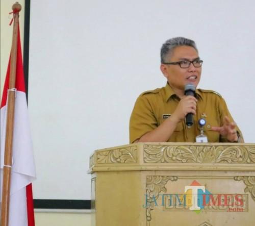 Kepala Dinas Pendidikan Kabupaten Malang Rachmat Hardijono (Nana)