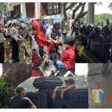 Kronologi Aksi Ricuh di Gedung DPRD Kota Malang, Wakapolres Kena Bogem, Beberapa Mahasiswa Luka