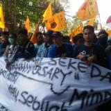 Reformasi Birokrasi Dinilai Gagal, PMII Lumajang Demo Pemkab Lumajang