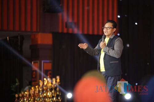 Wali Kota Malang Sutiaji saat menghadiri malam keakraban BMPD MPP. (Foto: Humas Pemkot Malang for MalangTIMES)