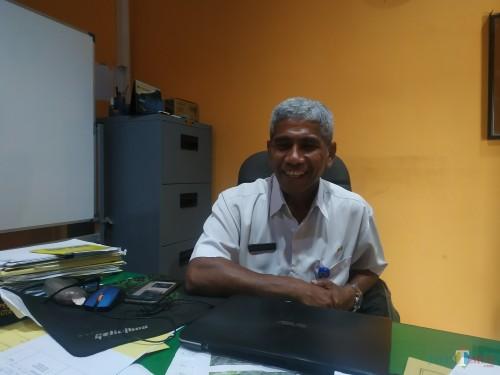 Kepala Bidang (Kabid) Kebersihan DLH Kota Malang, Joao Maria Gomes Je Carvalho (Hendra Saputra)