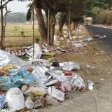 Jalibar Jadi Kumuh, Para Pedagang dan Pengguna Jalan Mengeluh Pembuatan Sampah