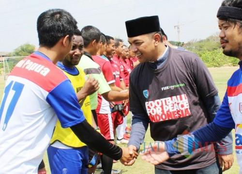 Rawat Perdamaian, Uni Papua Gelar Football for Peace Festival di Surabaya
