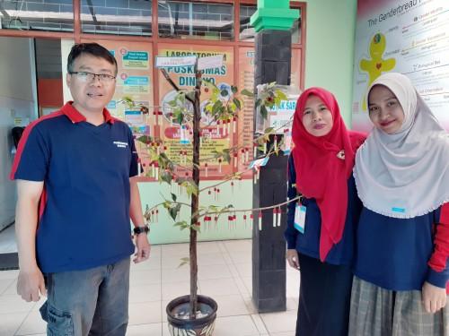 Periksakan Kesehatanmu Sambil Belajar Informasi Kesehatan di 'Pohon Laboratorium' Puskesmas Dinoyo Yuk!