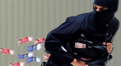 Ilustrasi uang dibawa kabur pelaku kejahatan (istimewa))