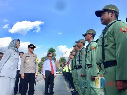 370 Personel Disiapkan untuk Pengamanan Pilkades Kota Batu Besok