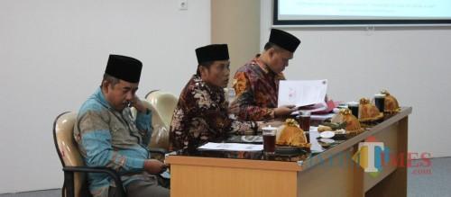 Pimpinan sementara DPRD Kabupaten Blitar memimpin sosialisasi kelembagaan, program kerja dan kegiatan sekretariat