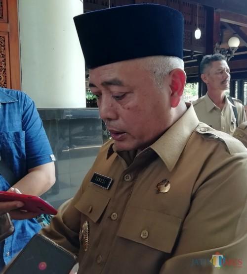 Bupati Malang Sanusi dalam kontestasi Pilkada serentak 2020 (nana)