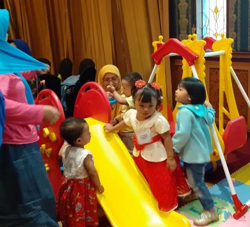 Tingkah lucu Balita sehat (Arifina Cahyanti Firdausi/MalangTIMES)