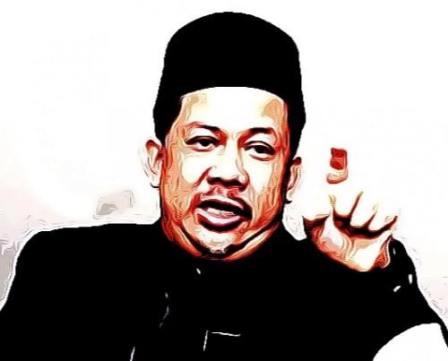 Fahri Hamzah mantan Wakil Ketua DPR RI geleng kepala ada kampus takut bahas naskah akademis UU KPK (Ist)