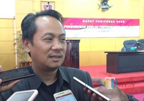 Ketua DPC PDIP Kota Blitar, dr Syahrul Alim.(Foto : Aunur Rofiq/BlitarTIMES)
