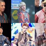 Obama hingga Jin BTS, Ini Deretan Pesohor Dunia yang Makin Gagah Kenakan Batik