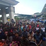 Rusuh Wamena, 120 Warga Jatim Pulang