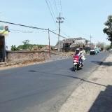 Sedia Drainase Sebelum Hujan, Bina Marga Selesaikan Jalan Raya Talangagung