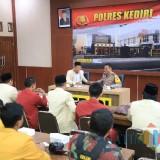 Terkait Kasus Universitas Halu Oleo, Kapolres Kediri Terima Audensi dengan IMM