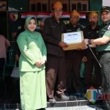 Peringati HUT Ke-74 TNI, Kodim 0808/Blitar Santuni Pejuang dan Veteran