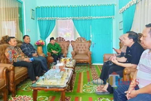 Usung Konsep Sekolah Bersinar, Lembaga Tripartit Audiensi dengan Kepala Kemenag Banyuwangi