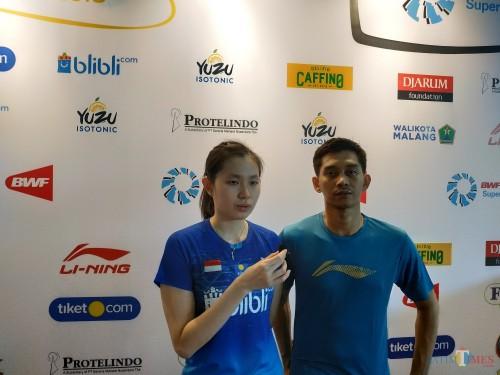 Alfian Eko Prasetya/Angelica Wiratama Pastikan Satu Tiket Semifinal Yuzu Indonesia Masters 2019