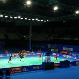 Laga Semifinal Ganda Campuran Berlangsung Seru, Adnan/Mychelle Berhasil Lolos Final