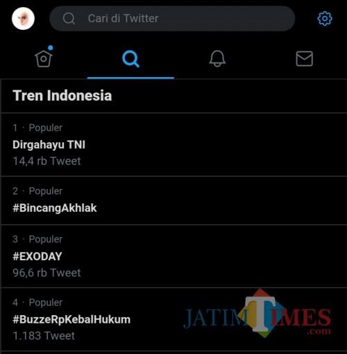 Trend topik Indonesia kedua yang bikin kita tertawa