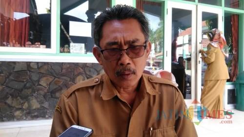 Kasi P2P Dinas Kesehatan Tulungagung, Didik Eka (foto : Joko Pramono/jatim Times)