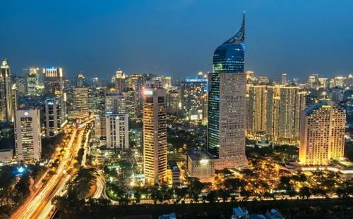 Jakarta pada malam hari. (Foto: istimewa)