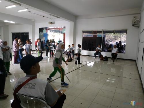 Suasana seleksi yang dilakukan di Stadion Gajayana (Hendra Saputra)