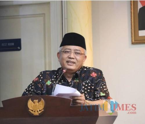 Bupati Malang Sanusi pastikan NPHD Pilkada 2020 akan disesuaikan dan cepat ditandatangani (dok MalangTimes)