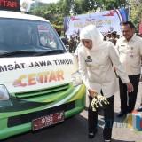 Gubernur Khofifah Luncurkan 30 Unit Samsat Keliling Cettar