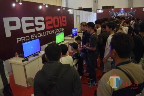 Suasana pelaksanaan KAI Esports Exhibition di Yogyakarta pada Agustus 2019 lalu. (Foto: KAI for MalangTIMES)