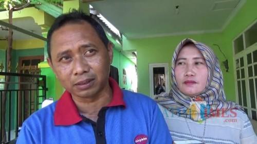 Budiharto dan Maria Ulfa, pasangan suami istri yang bersaing dalam pilkades