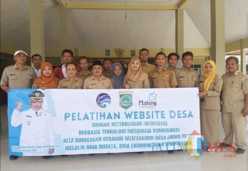 Diskominfo Kabupaten Malang terus intensifkan pelatihan website desa. (for MalangTimes)