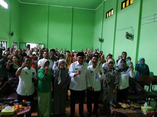 Penilaian lomba Karang Werda di Kecamatan Sukun, Rabu (9/10/2019) (Hendra Saputra)