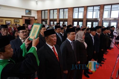 Pelantikan pejabat Pemkot Surabaya