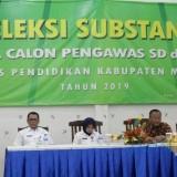 58 Balon Pengawas SD dan SMP Ikuti Seleksi Substansi, Dinas Pendidikan : Agar Terpilih Calon Pengawas Unggul