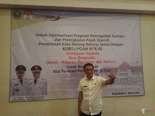 Kepala BP2D Kota Malang, Ade Herawanto, (Anggara Sudiongko/MalangTIMES)