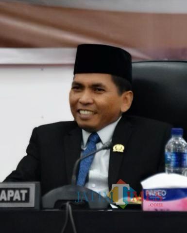Wakil Ketua DPRD Lumajang H. Bukasan S.Pd, MM (Foto : Moch. R. Abdul Fatah / Jatim TIMES)