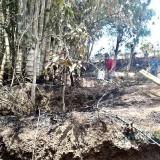 Lagi-Lagi Kelalaian Manusia, Dua Lahan di Kota Batu Terbakar