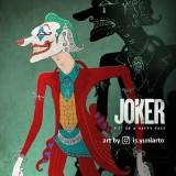 Indonesia Juga Punya Joker Versi Wayang, Warganet pun Bangga