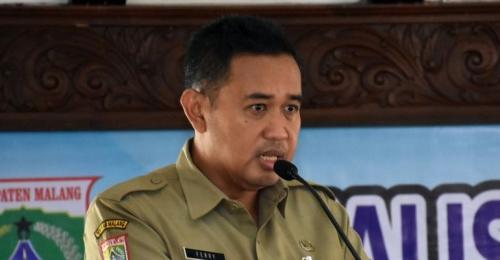Plt Kepala Diskominfo Kabupaten Malang, Ferry Hari Agung saat menjabarkan program KIM (Istimewa)